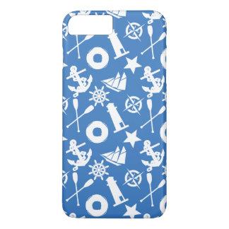 Super Nautical Pattern iPhone 7 Plus Case