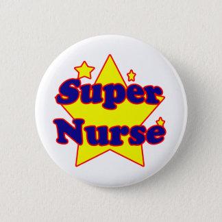Super Nurse 2 Inch Round Button