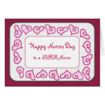Super Nurse - Happy Nurses Day Customizable Card