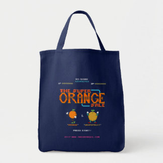Super Orange Sale Tote Bag