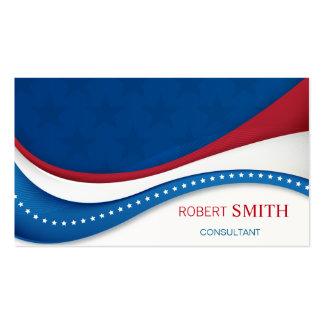 Super Patriotic USA Background Business Card