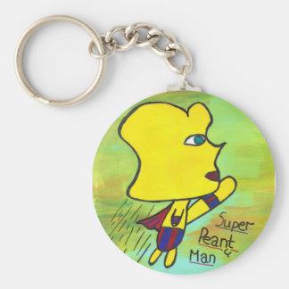 Super Peanut Man keychain
