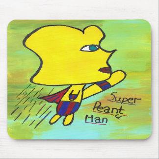 Super Peanut Man mousepad