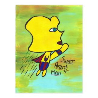 Super Peanut Man Postcard