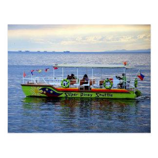 Super Pinoy Shuttle Postcard