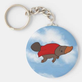 Super Platypus Keychain