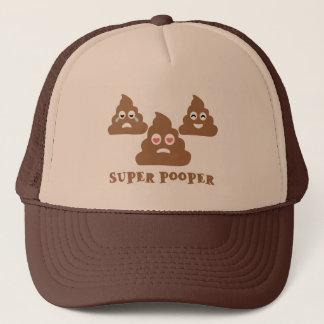 Super Pooper Emoji Trucker Hat