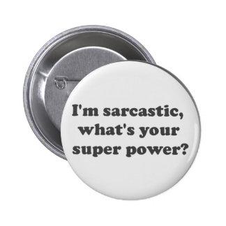 Super Power 2 Inch Round Button