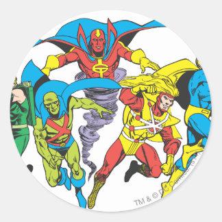 Super Powers™  Collection 10 Round Sticker