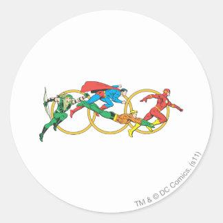 Super Powers™  Collection 11 Round Sticker
