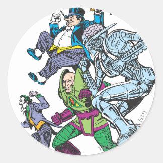 Super Powers™  Collection 13 Round Sticker