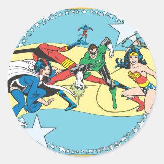 Super Powers™  Collection 14 Round Sticker