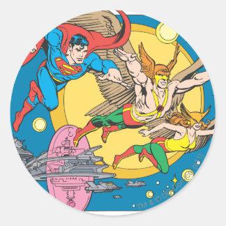 Super Powers™  Collection 15 Round Sticker