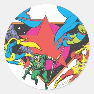 Super Powers™ Collection 16 Round Sticker