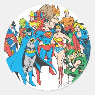 Super Powers™ Collection 2 Round Sticker