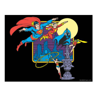 Super Powers™ Collection 5 Postcard
