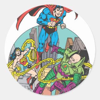 Super Powers™ Collection 6 Round Sticker