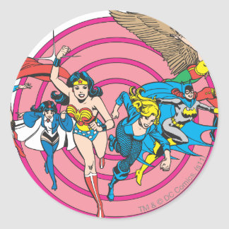 Super Powers™ Collection 8 Round Sticker