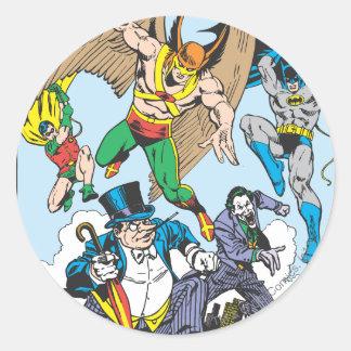Super Powers™ Collection 9 Round Sticker