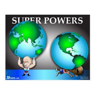 Super Powers Postcard