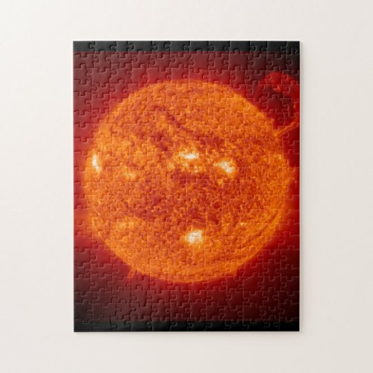 Super Prominence - Sun in Space Jigsaw Puzzle