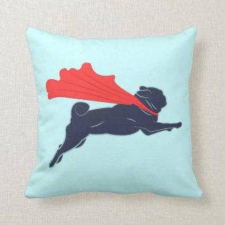 Super Pug Pillow