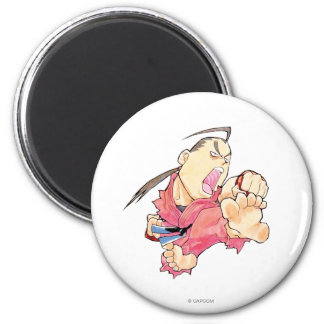 Super Puzzle Fighter II Turbo Dan 2 2 Inch Round Magnet
