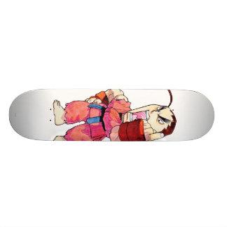 Super Puzzle Fighter II Turbo Dan Skateboard