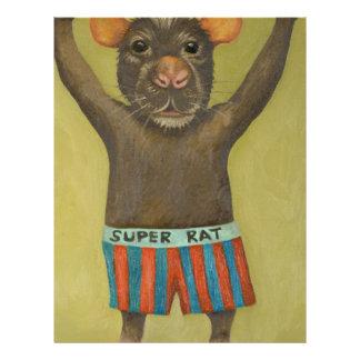 super rat customized letterhead