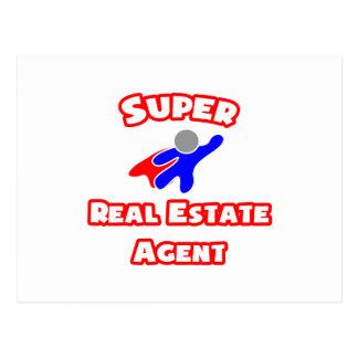 Super Real Estate Agent Postcard