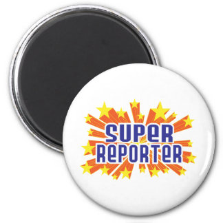 Super Reporter Fridge Magnets