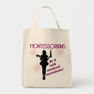 Super-roomy Montessori Grocery bag
