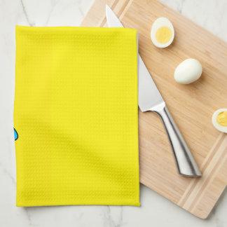 Super Sad Crying Face Emoji Kitchen Towel