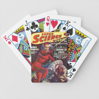 Super Science Bicycle Playing Cards
