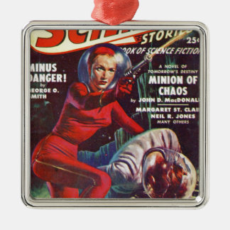 Super Science Metal Ornament