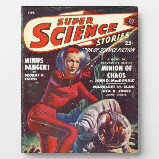Super Science Plaque