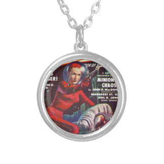 Super Science Silver Plated Necklace