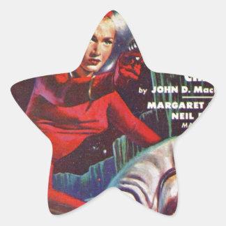 Super Science Star Sticker