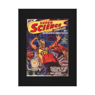 Super Science Stories_Pulp Art Canvas Print