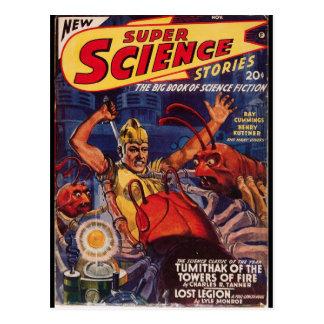 Super Science Stories_Pulp Art Postcard