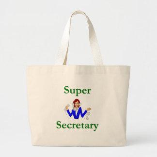 Super Secretary Tote Bag