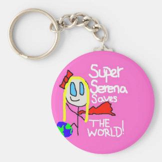 Super Serena Keychain! Basic Round Button Keychain