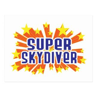 Super Skydiver Postcard