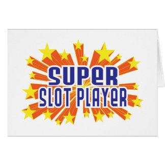 Super Slot Player Card