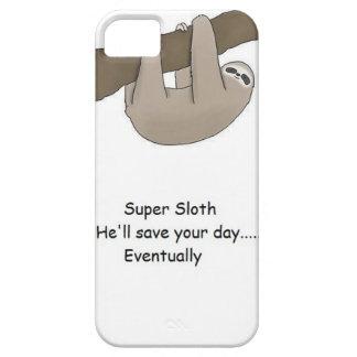 Super Sloth Hero iPhone 5 Covers