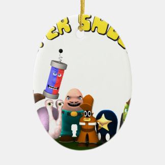 Super Snoops Jr. Detectives Ceramic Ornament