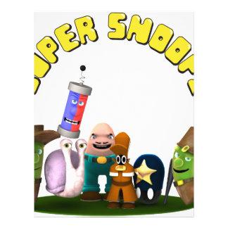 Super Snoops Jr. Detectives Letterhead