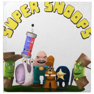 Super Snoops Jr. Detectives Napkin