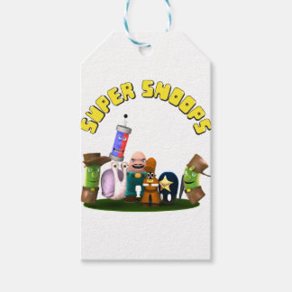 Super Snoops Jr. Detectives Pack Of Gift Tags