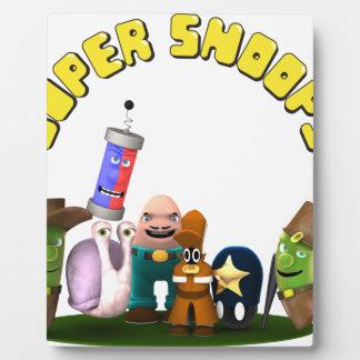 Super Snoops Jr. Detectives Plaque